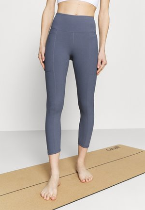 POCKET 7/8 - Leggings - blue jay