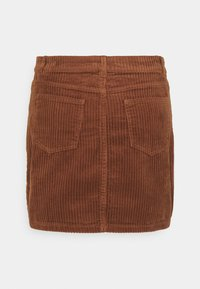 ONLY - ONLSKY ENY LIFE SKIRT - Denim skirt - rustic brown - 1