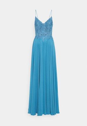 Společenské šaty - steele blue