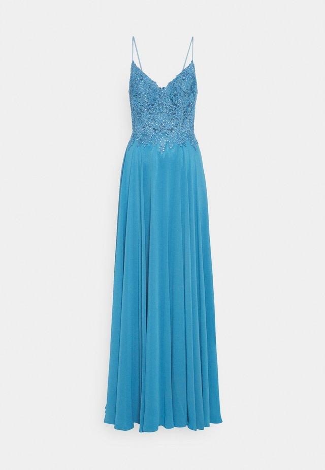 Festklänning - steele blue