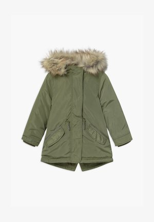SMALL GIRLS - Abrigo de invierno - deep lichen green