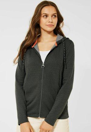 DOUBLEFACE - Zip-up sweatshirt - grün