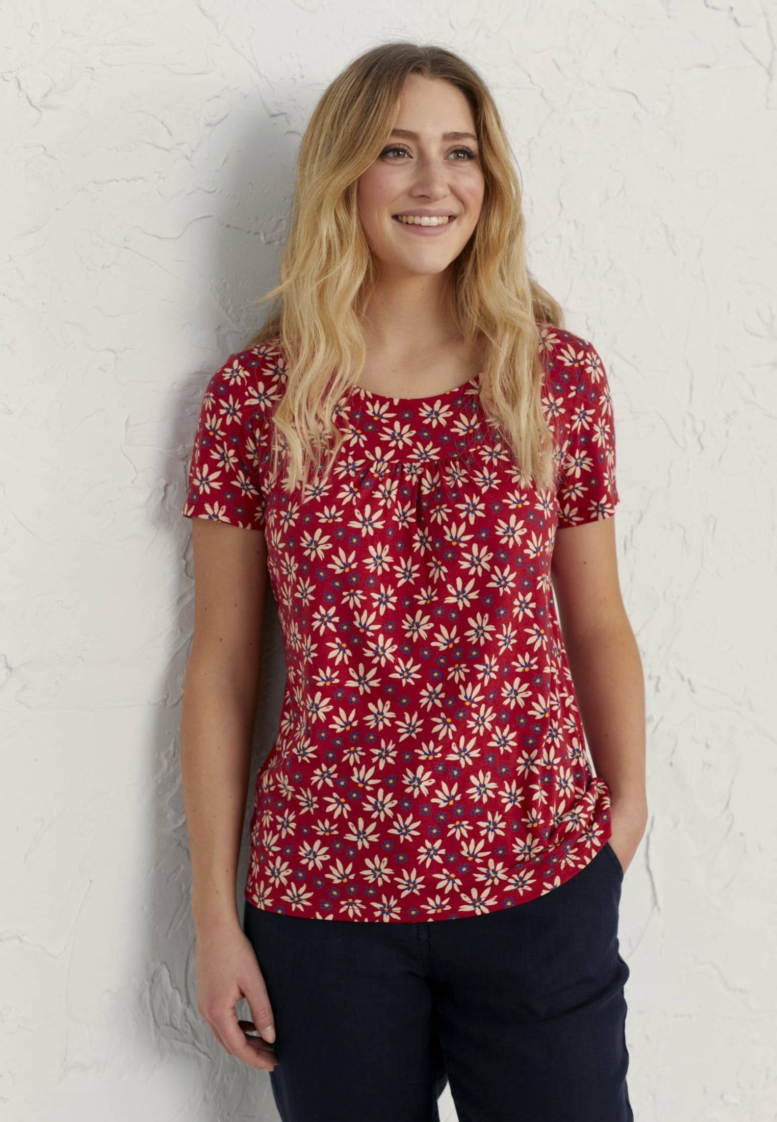 Damen ABBEY WOOD - T-Shirt print