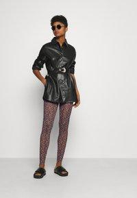 YAS - YASMILANA  - Leggings - Trousers - black - 1