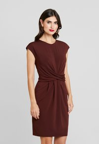 Anna Field - BASIC - Vestido informal - bitter chocolate - 0
