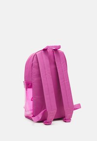 Fila - TRANSPARENT BACKPACK UNISEX - Mochila - super pink - 3