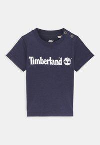 Timberland - SHORT SLEEVES  - T-shirt print - navy - 0