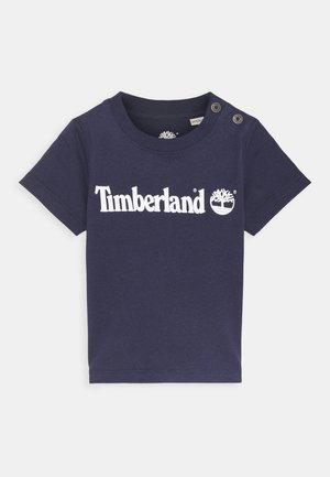 SHORT SLEEVES  - T-shirt print - navy