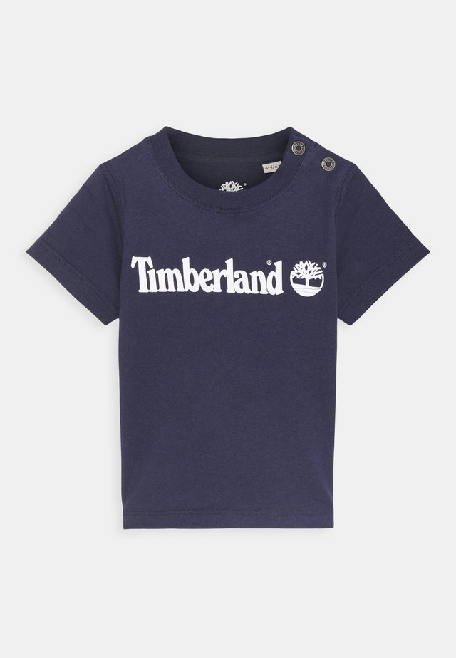SHORT SLEEVES  - T-shirt con stampa - navy