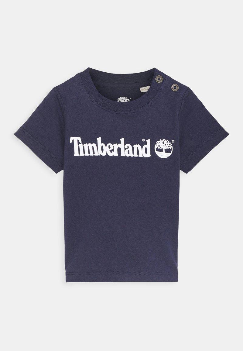 Timberland - SHORT SLEEVES  - T-shirt print - navy
