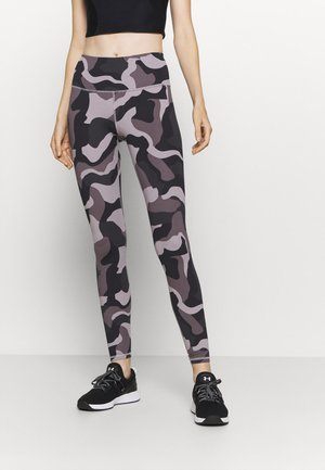 RUSH CAMO LEGGING - Leggings - slate purple