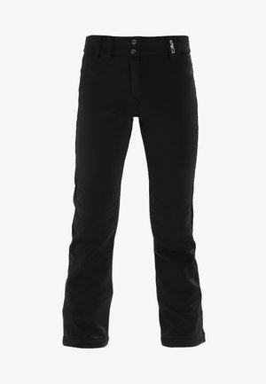 WOMAN LONG PANT WITH INNER GAITER - Snow pants - nero
