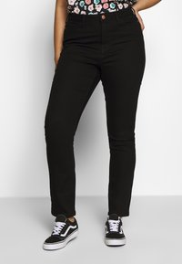 JUNAROSE - by VERO MODA - JRONENOVINA - Jeans Skinny Fit - black denim - 0