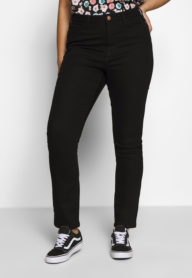 JUNAROSE - by VERO MODA - JRONENOVINA - Jeans Skinny Fit - black denim