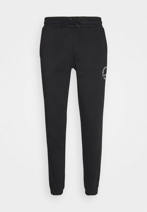 JORELIAS  - Tracksuit bottoms - black