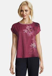 Betty & Co - Print T-shirt - pink - 0
