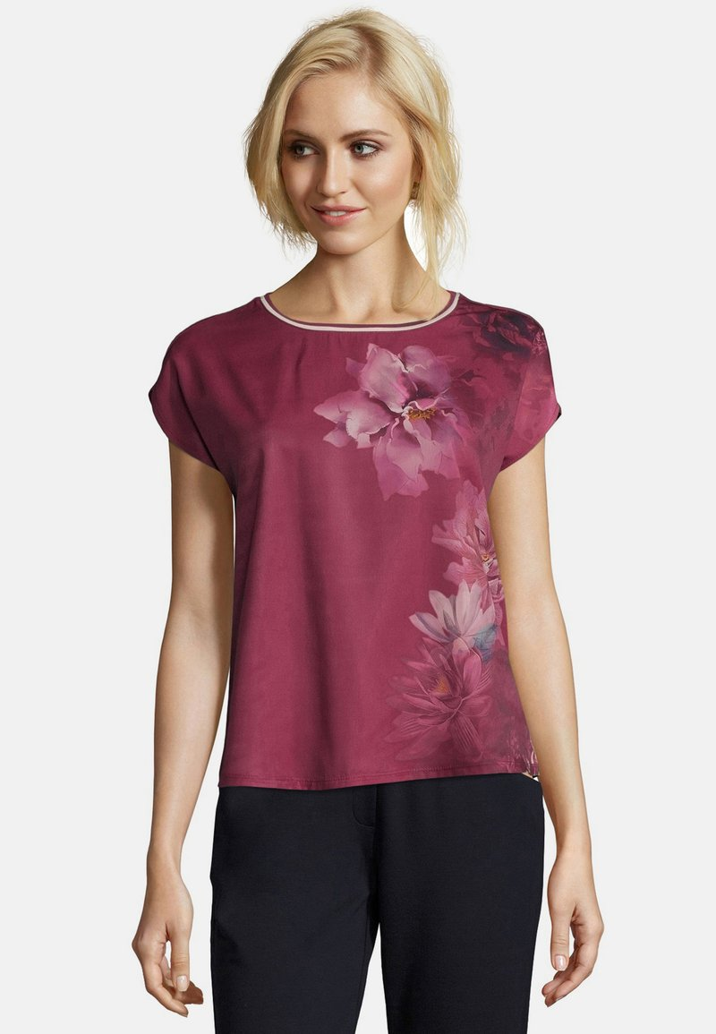 Betty & Co - Print T-shirt - pink