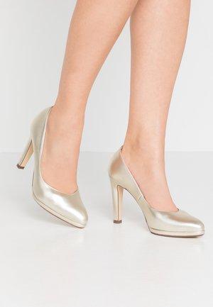 HERDI - High heels - platin