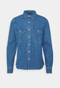 Neuw - WORKWEAR - Shirt - blue denim - 0