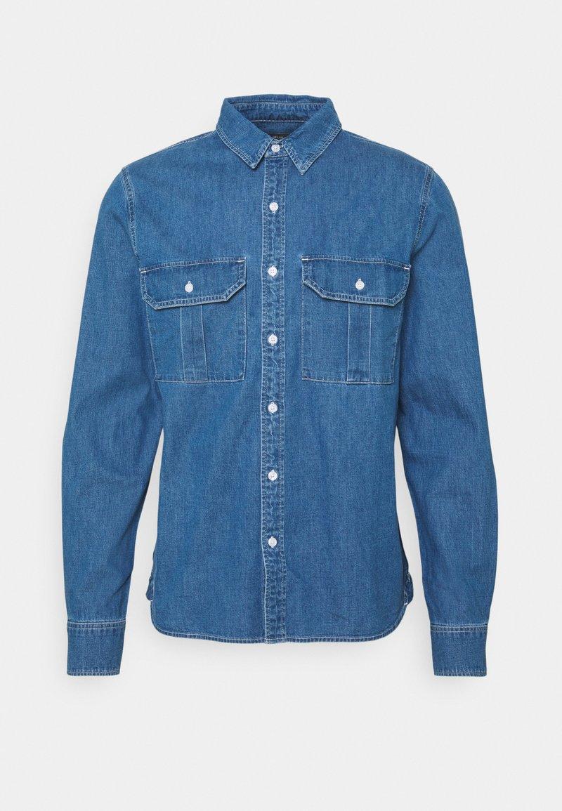 Neuw - WORKWEAR - Shirt - blue denim