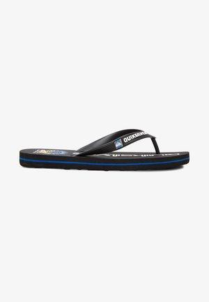 Slippers - black/blue/black