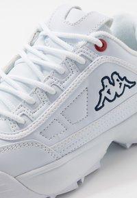 Kappa - RAVE NC  - Scarpe da fitness - white - 5