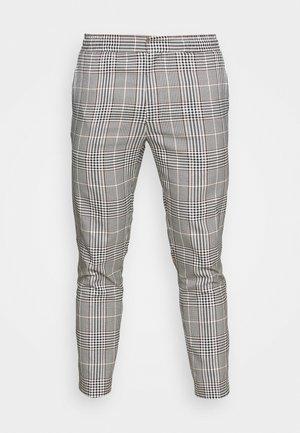 HERI CHECK WHYATT - Trousers - off white