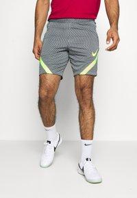 Nike Performance - DRY STRIKE SHORT - Pantalón corto de deporte - smoke grey/black/volt - 0