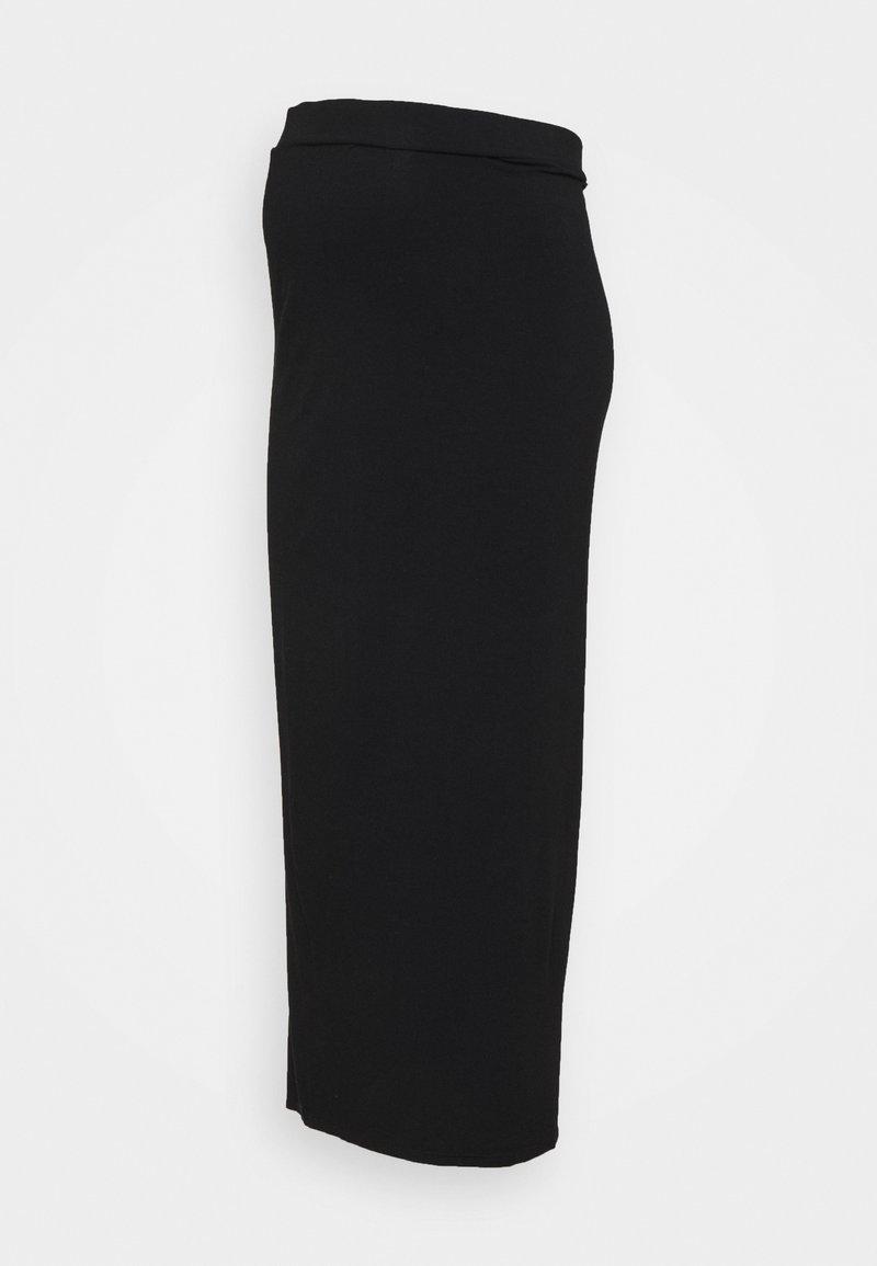 Dorothy Perkins Maternity - MATERNITY SKIRT - Maxi skirt - black