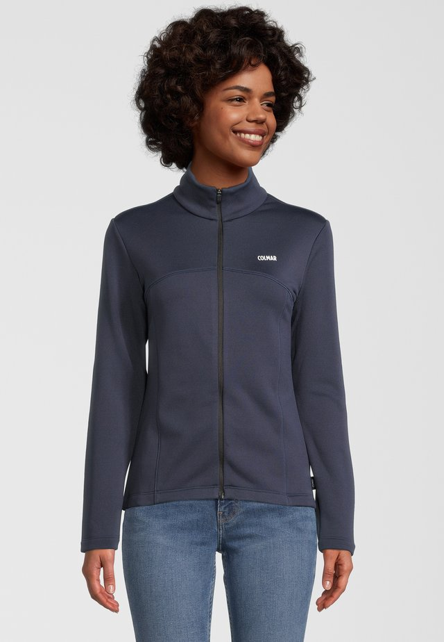 MONFACE - veste en sweat zippée - navy