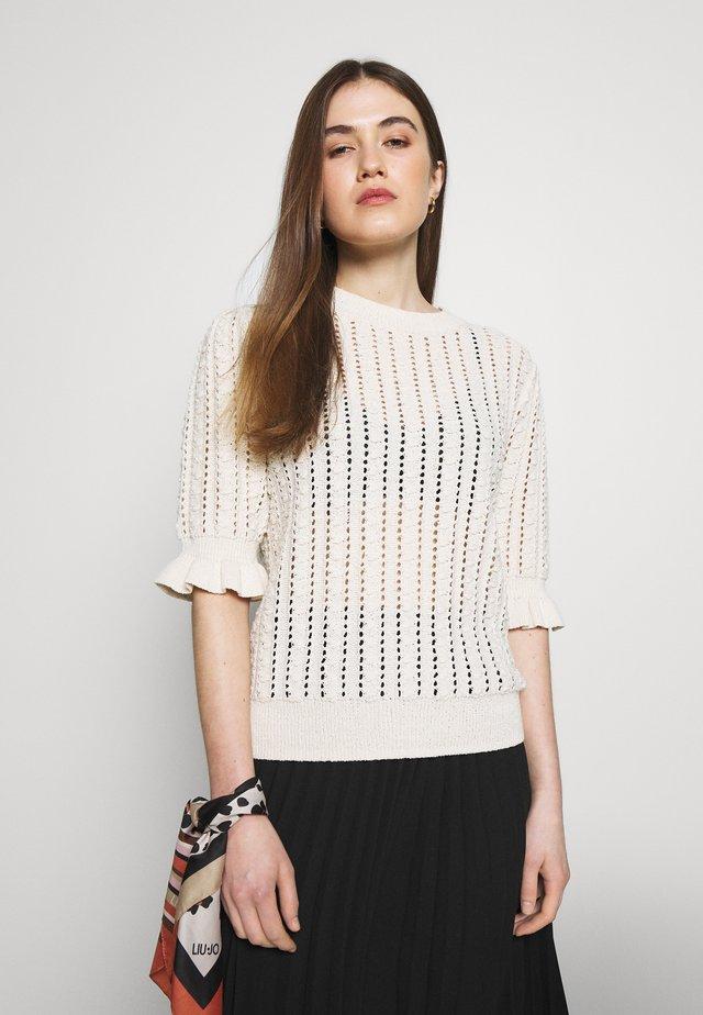 JUMPER VENNA - T-shirt z nadrukiem - offwhite