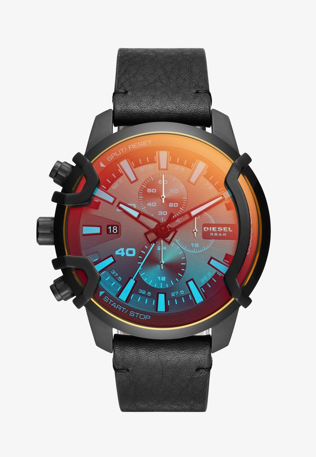 GRIFFED - Chronograph watch - black