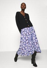 Fabienne Chapot - BOBO FRILL SKIRT - Wrap skirt - marigold lilac - 3