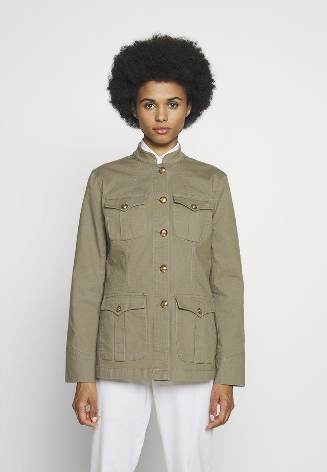 JACKET - Summer jacket - dry olive