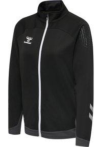 Hummel - HML LEAD  - Zip-up sweatshirt - black - 1