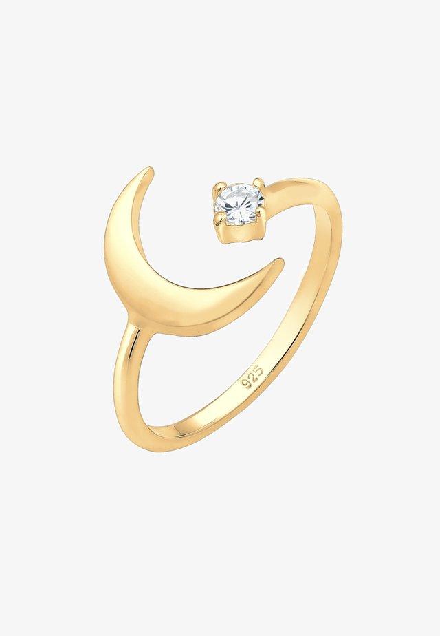 HALBMOND ASTRO  - Ring - gold-colored