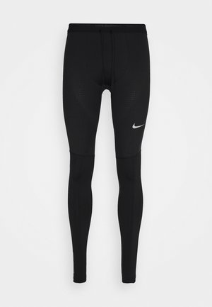 ELITE - Leggings - black/reflective silver