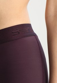 Skins - DNAMIC LONG - Leggings - merlot - 3