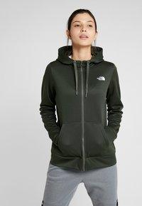 The North Face - SURGENT FULLZIP - Fleece jacket - green heather - 0