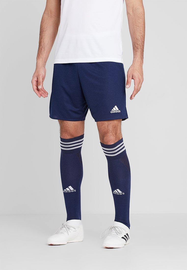adidas Performance - PARMA PRIMEGREEN FOOTBALL 1/4 SHORTS - Korte sportsbukser - dark blue/white