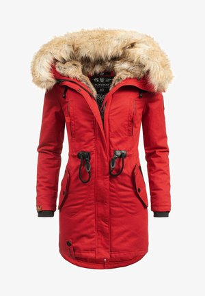 BOMBII - Winter coat - red