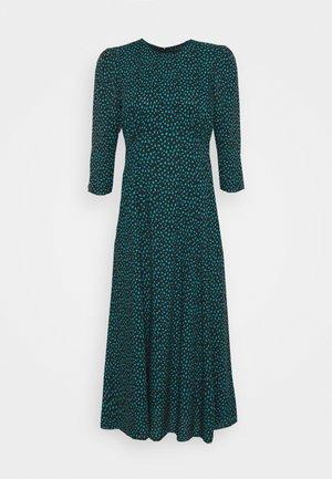 SPOT MIDI EMPIRE DRESS - Denní šaty - black
