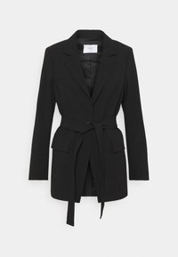 Marc O'Polo PURE - BELTED SUMMER SUITING - Blazer - black - 0