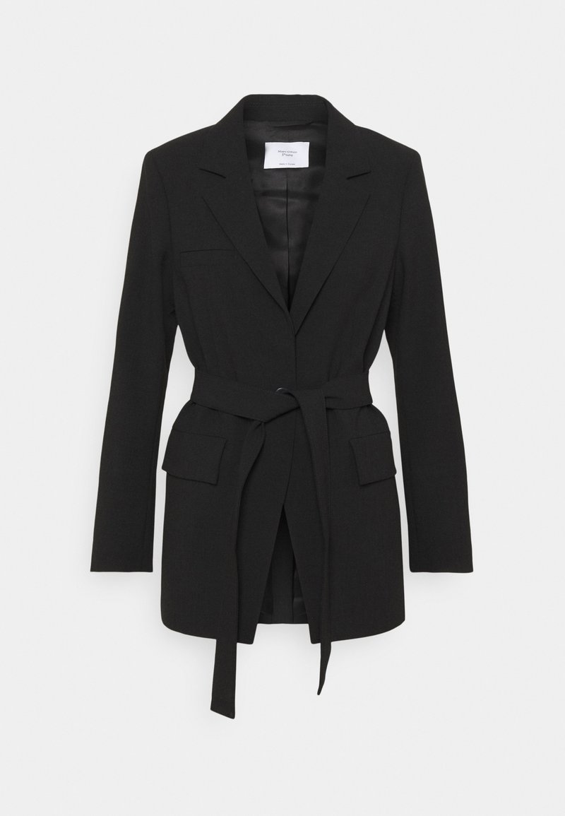 Marc O'Polo PURE - BELTED SUMMER SUITING - Blazer - black