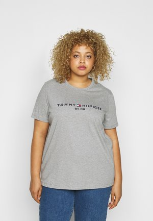 Print T-shirt - light grey heather