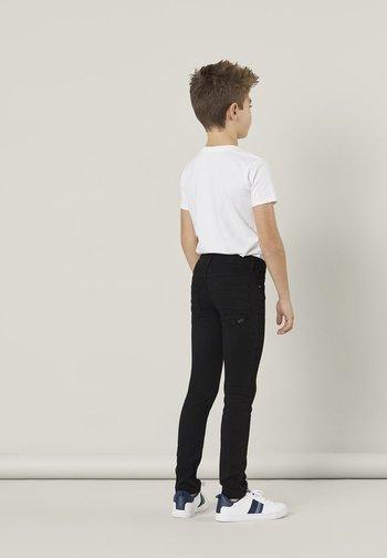 NKMTHEO  - Slim fit jeans - black
