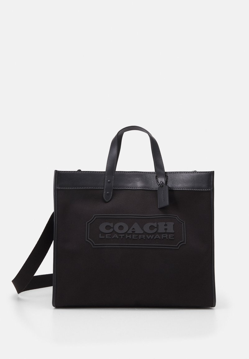 Coach - FIELD TOTE 40 UNISEX - Handbag - black
