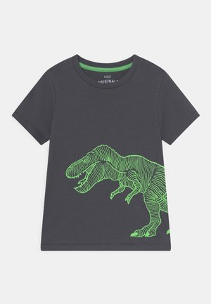 DINO - T-shirt print - carbon