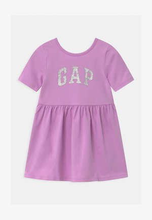 TODDLER GIRL LOGO - Vestito di maglina - purple rose
