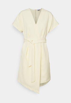 CLOSET KIMONO DRESS - Day dress - lemon